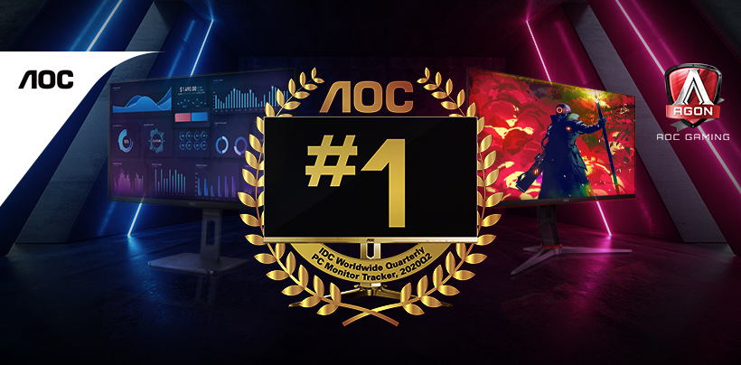 AOC is Philippines' #1 PC Monitor brand