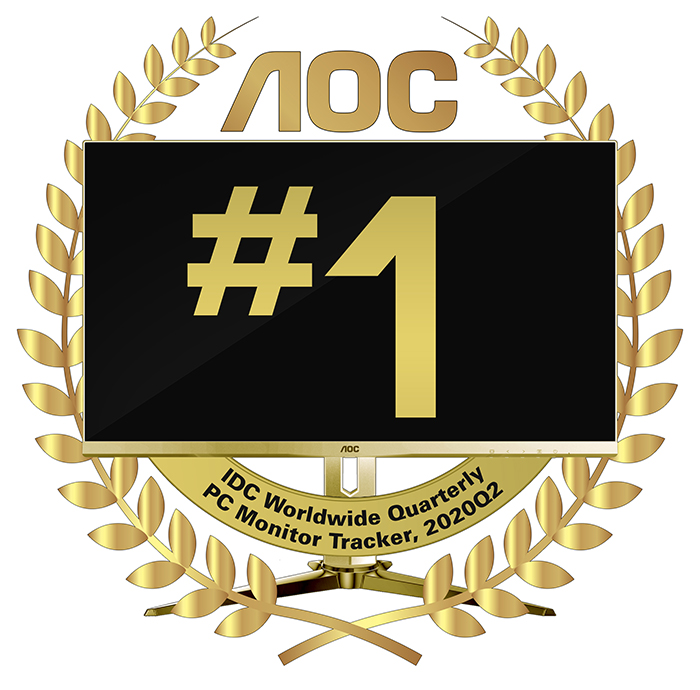AOC is the number 1 monitor brand in the Philippines