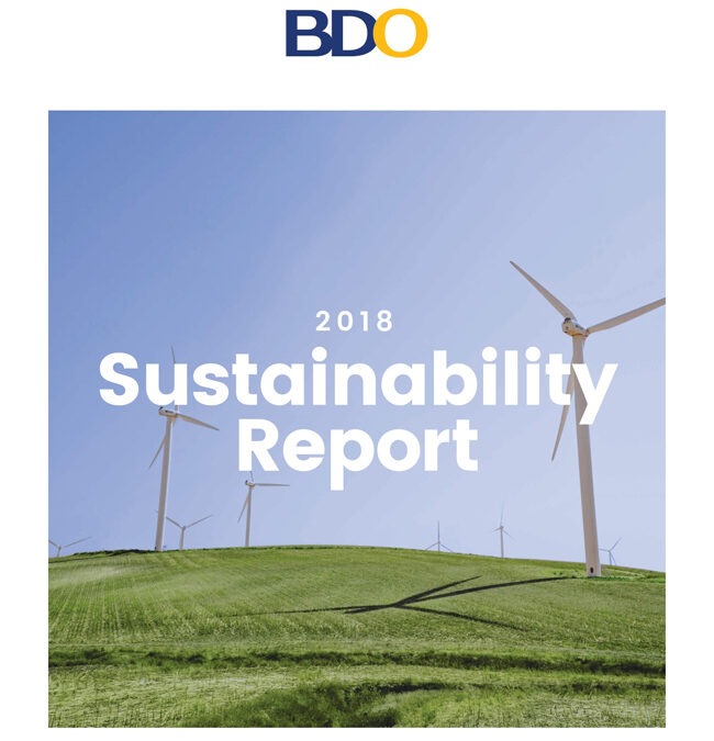 BDO scores Bronze at the 5th Asia Sustainability Reporting Awards