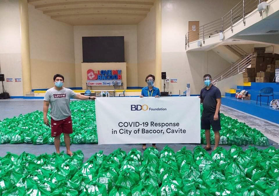 BDO Foundation launches initiatives to help various sectors rebuild