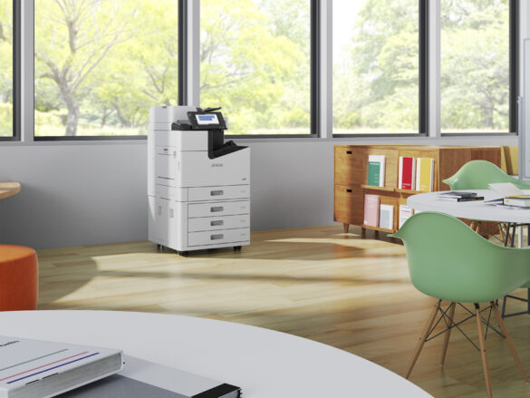 Epson Launches New High-Speed Inkjet Copiers for Busy Work Environments