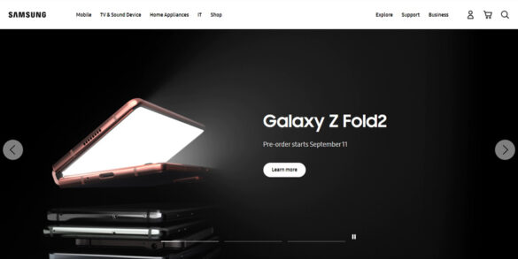 Be the First to Own the Samsung Galaxy Z fold2, Available via Pre-Order Starting September 11!