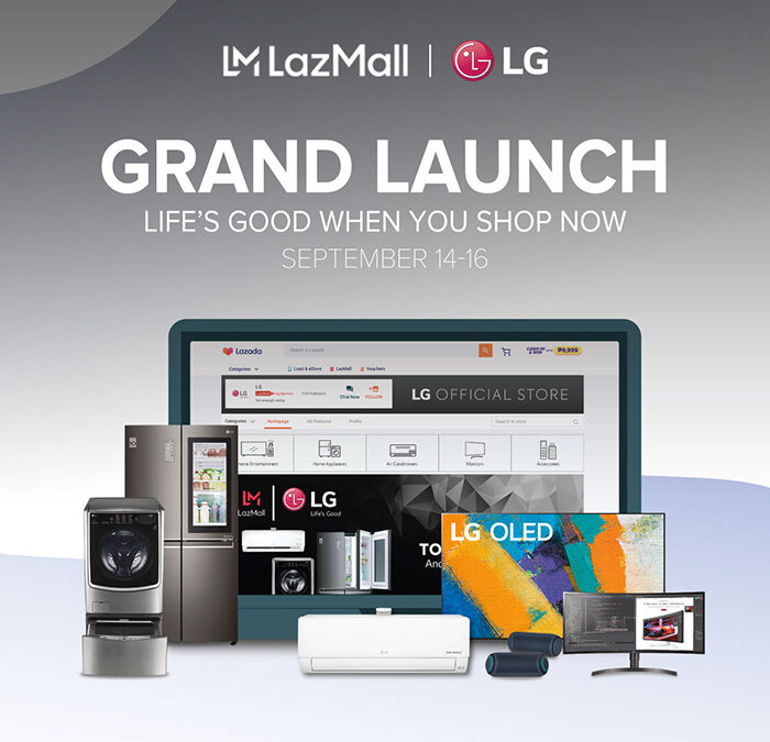 LG launches official store in Lazada