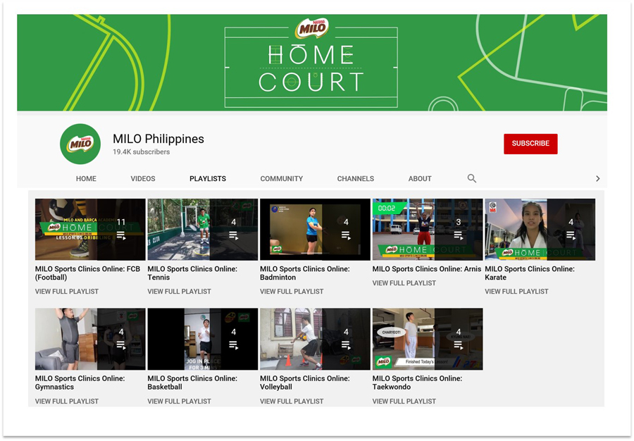 MILO Launches Home Court Campaign, Inspiring Parents To Help Their Kids Pursue Their Champion Journey In Sports, Even At Home