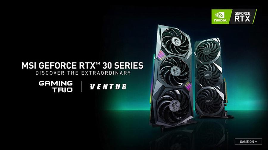 MSI Unveils First Custom NVIDIA® GEFORCE RTXTM 30 SERIES