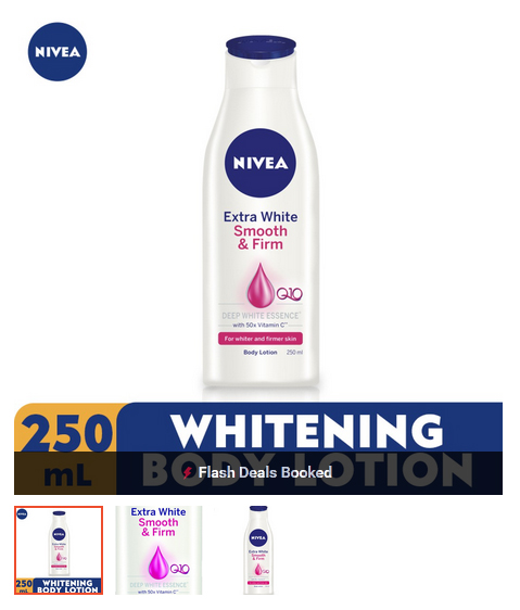 Nivea Body Extra White Firming Lotion 250ml