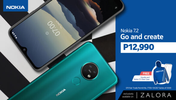 Nokia Phones Becomes the First Mobile Brand on Zalora, Offers Exclusive Discount on Nokia 7.2