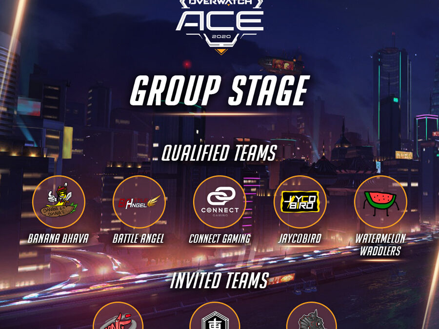 OverwatchTM 2020 ACE Championship Group Stage Kicks Off with Eight Teams
