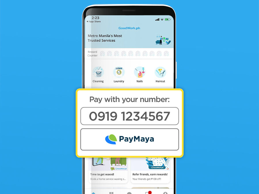 PH's Top Home Services App Goodwork Upgrades to Safer Cashless Transactions With PayMaya