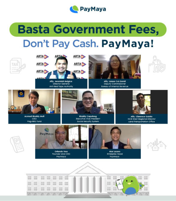 Government Turns to PayMaya for Contactless Payments