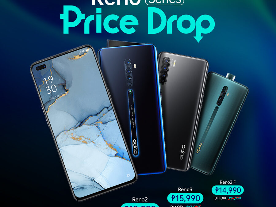 Score Up To P9,000 Off On Selected OPPO Reno Smartphones