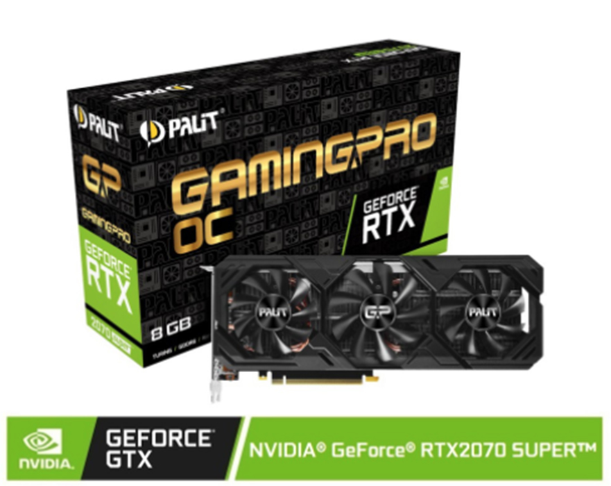 Buy the Palit NVIDIA® GeForce® RTX 2070 SUPER™ Gaming Pro OC Edition 8G Graphic Card on Shopee for only P24,995 (that's 21% off from the original P31,595 SRP).