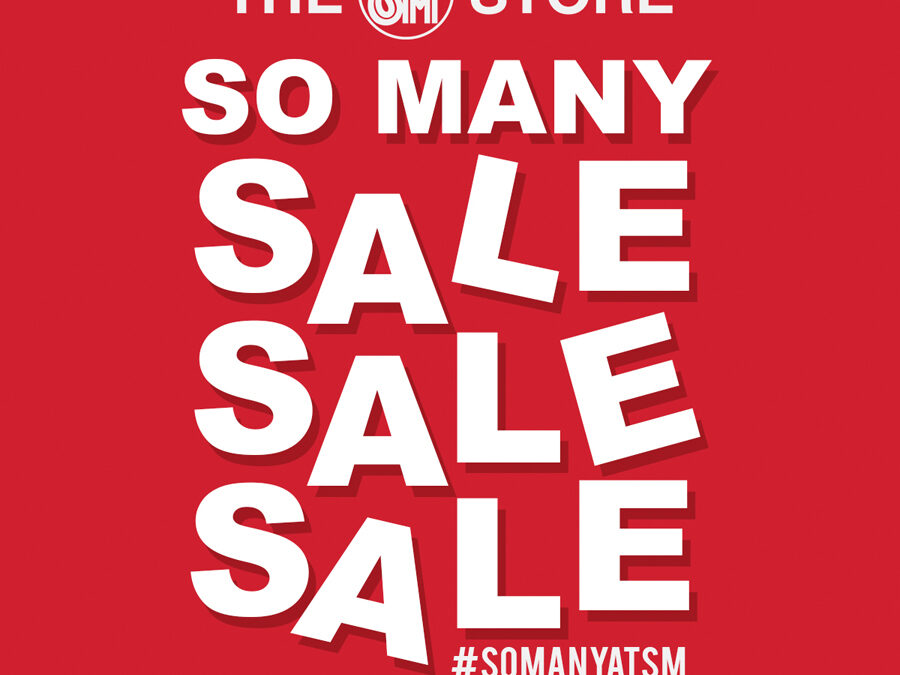 SALE AWAY! With the SM Store's So Many Sale, SM Woman, SM Men, SM Youth Let You Bag the Best Deals This September and October