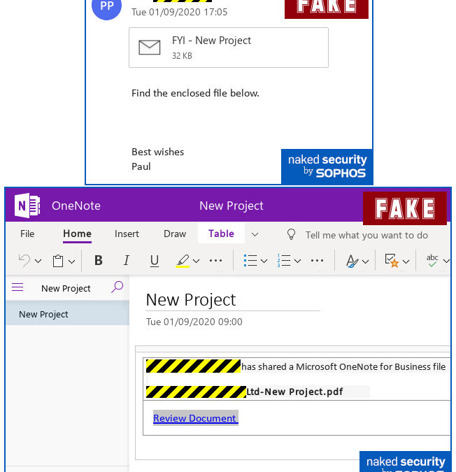 Phishing Scam Uses Sharepoint and One Note to Go After Passwords