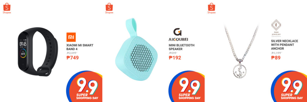 Grab These 9 Insane Deals this Shopee's 9.9 Super Shopping Day