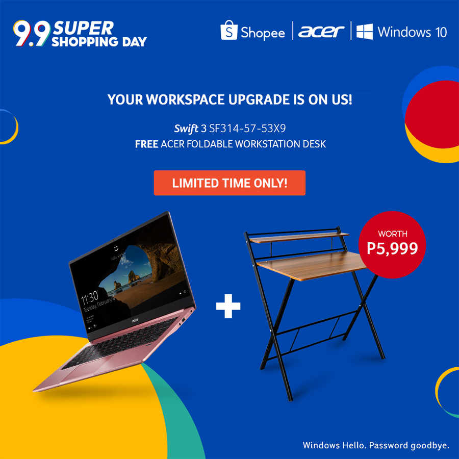 Acer Kicks Off the Holiday Season with Shopee 9.9 Deals