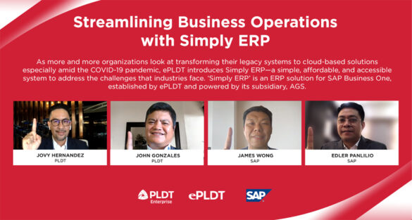 ePLDT Launches 'Simply ERP' for Streamlined Business Operations