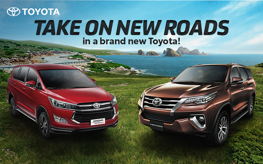 Take on New Roads With a New Toyota This September