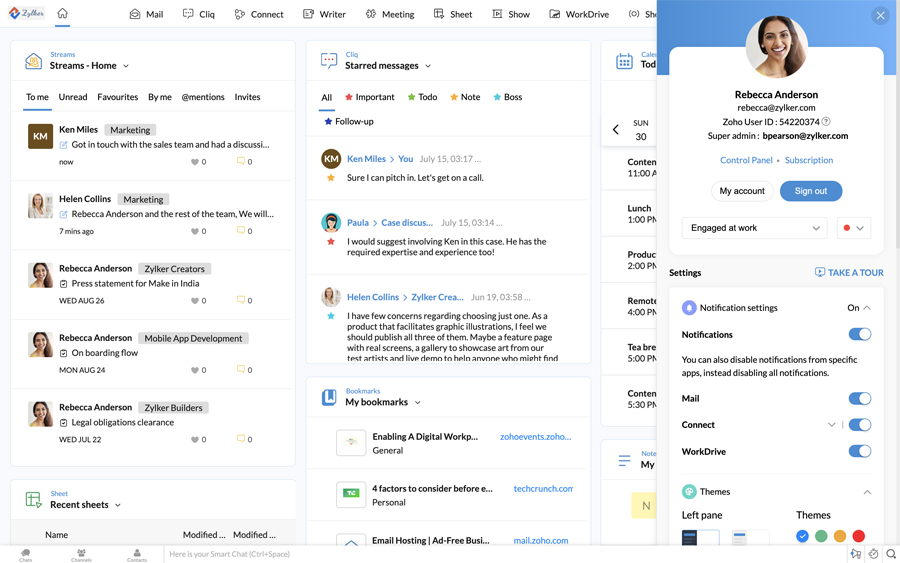 Zoho Workplace Reimagines Work by Bringing Business Context and Continuity Across Apps, Devices, and Modes of Work