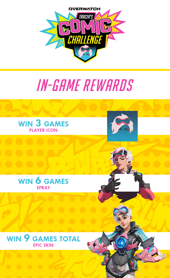 Cheers Love! A New Overwatch Comic Series & Challenge is Here!