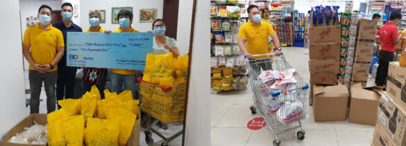BDO Unibank, through its remittance arm BDO Remit, supports the free food donation drive of Feby Baguisa (far right in the first photo), an overseas Filipino in the United Arab Emirates (UAE) who lost her job during the pandemic but still found the time and dedication to help other unemployed individuals through this campaign dubbed as Project Ayuda. Aside from the financial assistance, BDO Remit representatives also helped in the shopping, packing, and distribution of food items to unemployed overseas Filipinos in UAE.