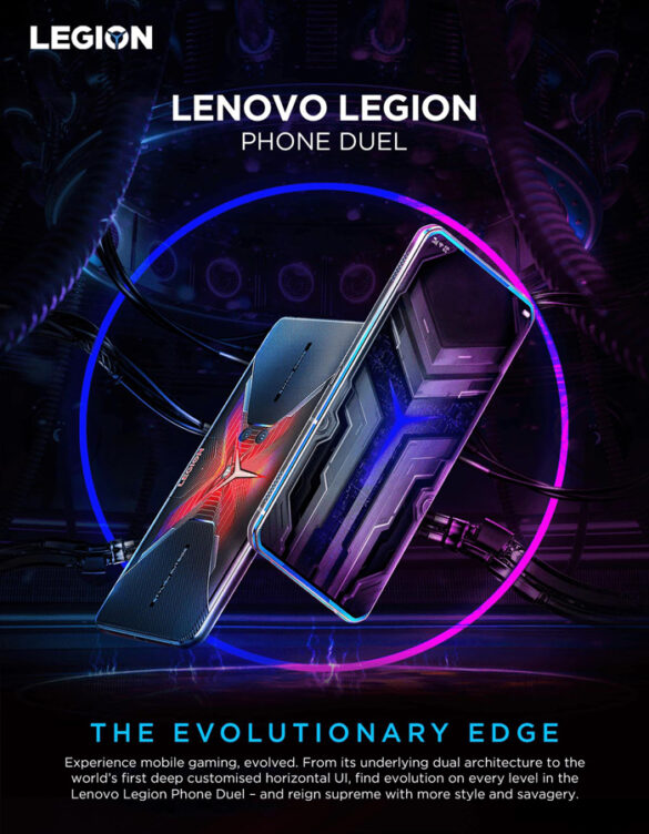 Lenovo introduces the Legion Phone Duel in the Philippines