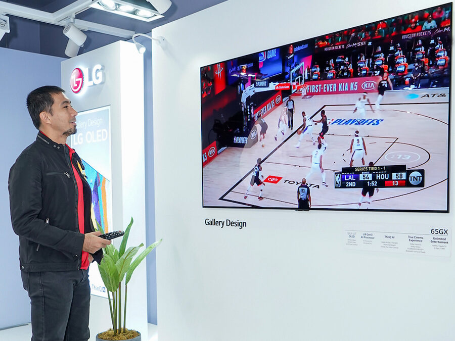 LG OLED Redefines Sports in the New Normal