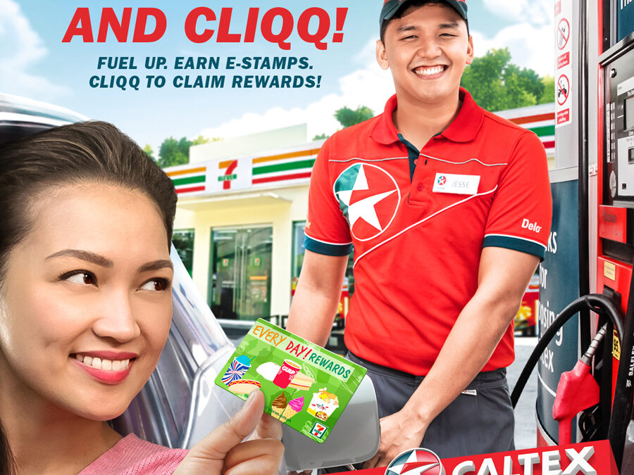 Caltex and 7-Eleven announce holiday rewards promo Fuel up and earn CLIQQ reward wallet credits that can be used for purchase at 7-Eleven