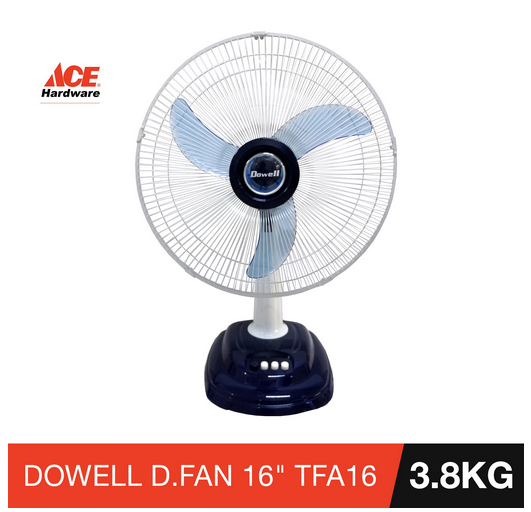 Dowell Desk Fan 16-inch