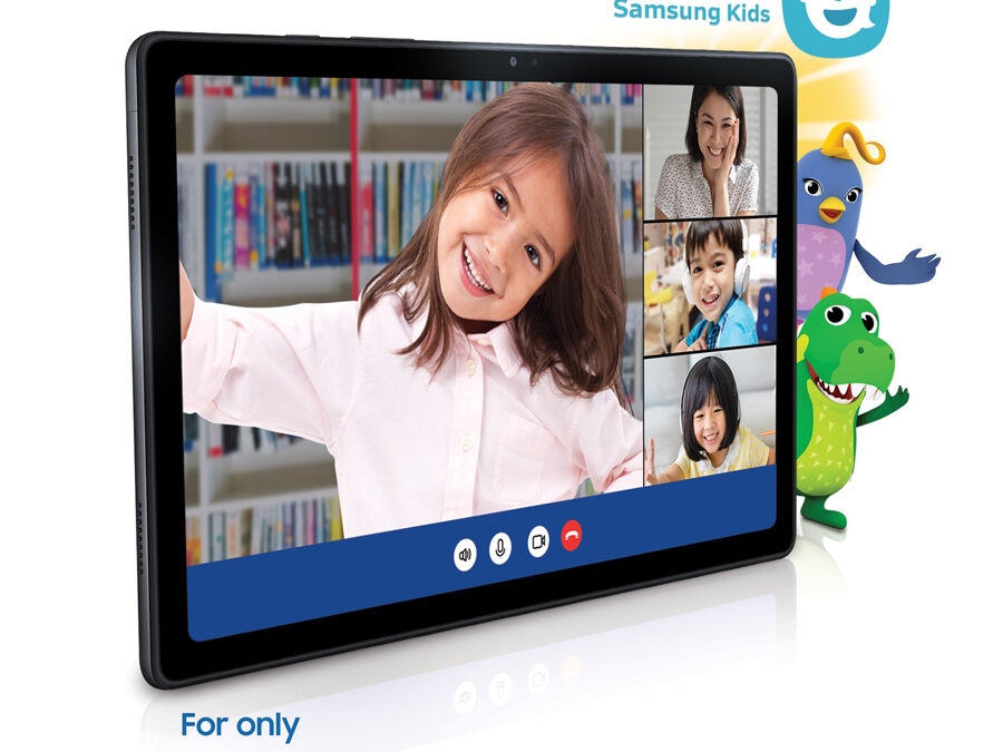 Learning made easy and fun with the new SAMSUNG Galaxy Tab A7, now available nationwide!