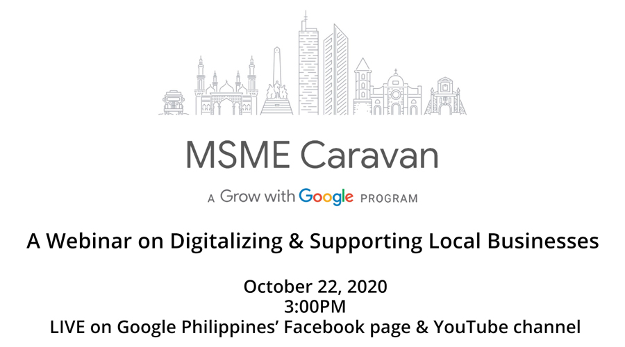Google Philippines to hold free webinar on digitalizing and supporting MSMEs