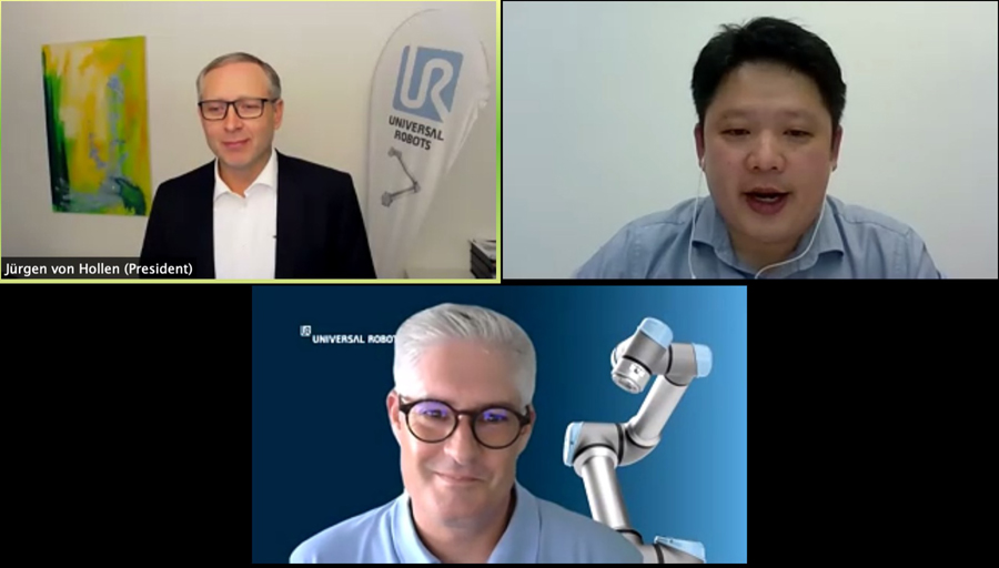 """Leading Luminaries and Asia-Pacific Attendees Converged at the Universal Robots """"Meet the Cobot Leaders"""" Keynote"""