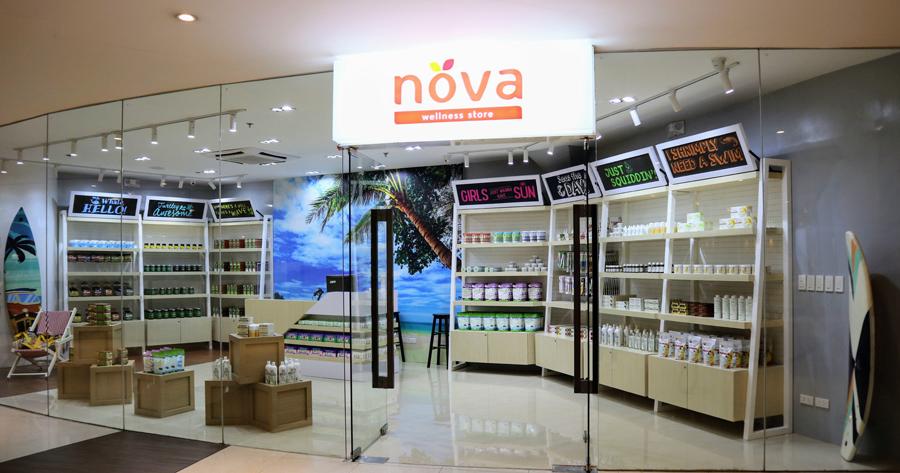 Nova Wellness Store opens at Shangri-La Plaza