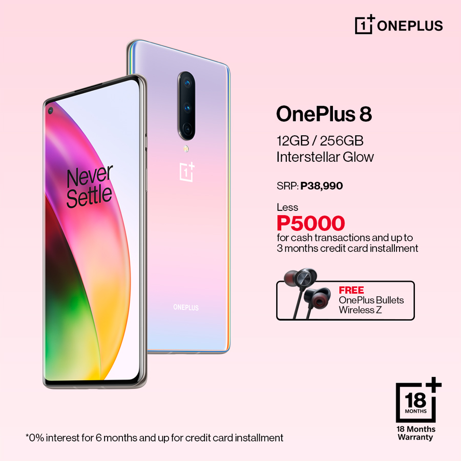 This is not a drill: Get P5,000 off and a free gadget with every purchase of OnePlus 7T or OnePlus 8 from Digital WalkerThis Is Not a Drill: Get P5,000 off and a Free Gadget With Every Purchase of OnePlus 7T or OnePlus 8 From Digital Walker