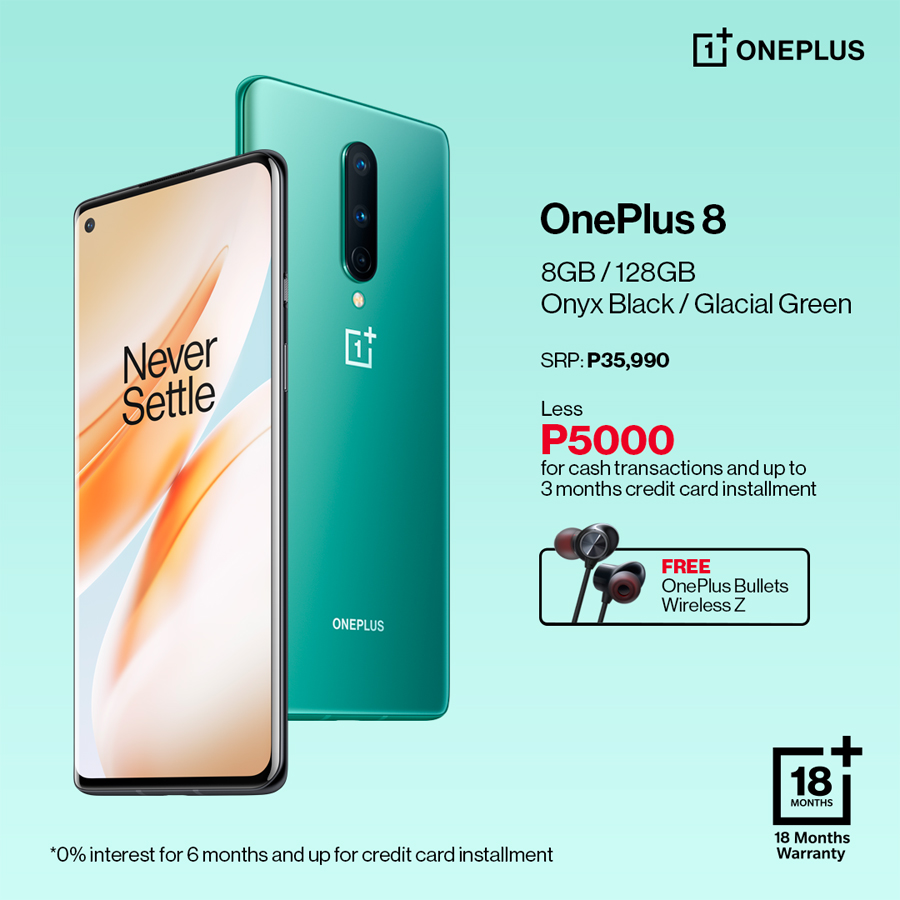 This Is Not a Drill: Get P5,000 off and a Free Gadget With Every Purchase of OnePlus 7T or OnePlus 8 From Digital Walker