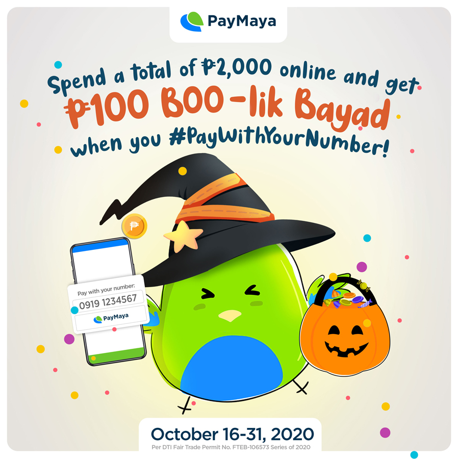 Four ways to safely celebrate Halloween at home with PayMaya