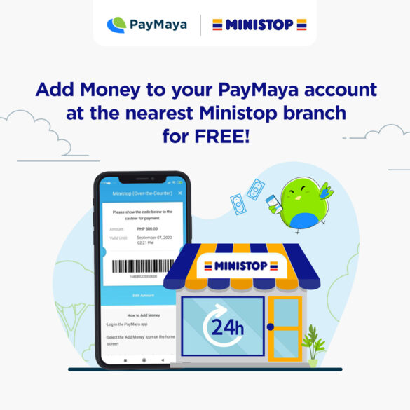 You Can Now Add Money to Your Paymaya Account for Free at Ministop Stores Nationwide