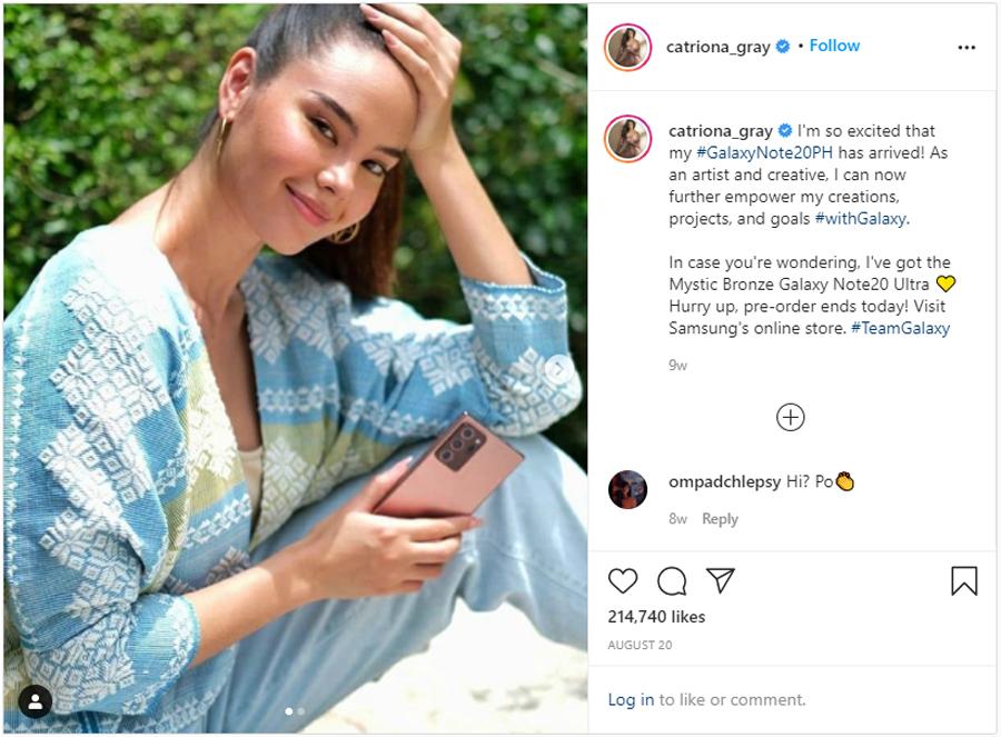 Ways to power work and play according to SAMSUNG Galaxy Note20 ambassadors Catriona Gray, Erwan Heussaff, Bianca Gonzalez, and Gino Quillamor