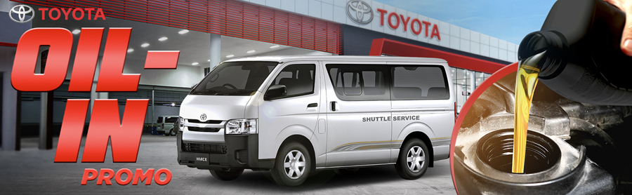 Toyota gives Hiace Commuter owners livelihood push with Oil-In offer