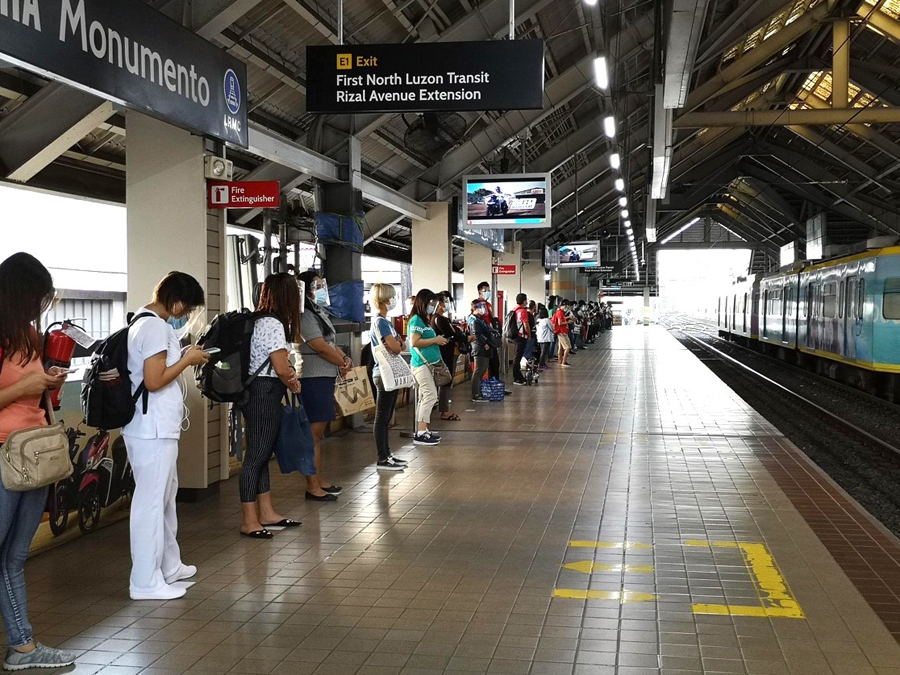 LRMC Boosts LRT-1 Capacity, Assures Safety of Passengers