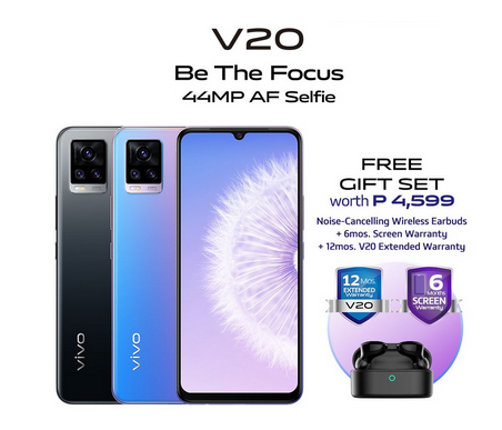 Get the vivo V20 on Shopee