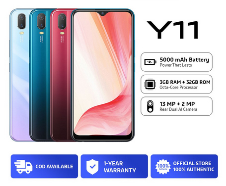 Get the vivo Y11 on Shopee