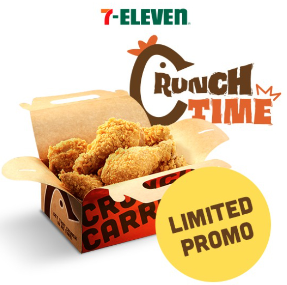 Order the Crunch Carrier Chicken (6 pcs) on Shopee