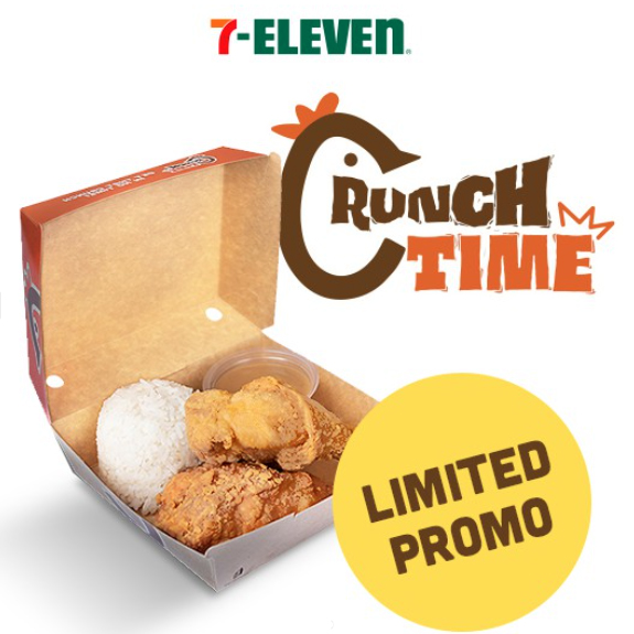 Order the 2 pc Crunch Time Fried Chicken Rice Meal on Shopee