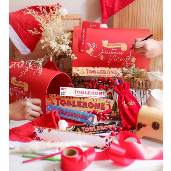 #BeMoreImaginative: Make Christmas More Positive and Thoughtful With Toblerone