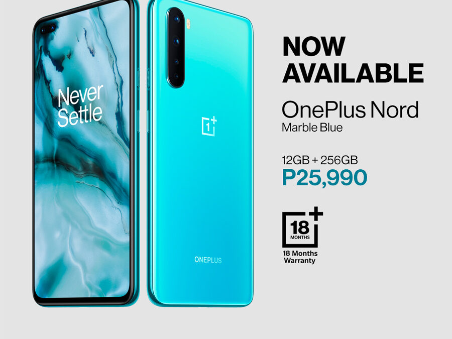 The OnePlus Nord Blue Marble 12GB/ 256GB NOW AVAILABLE!