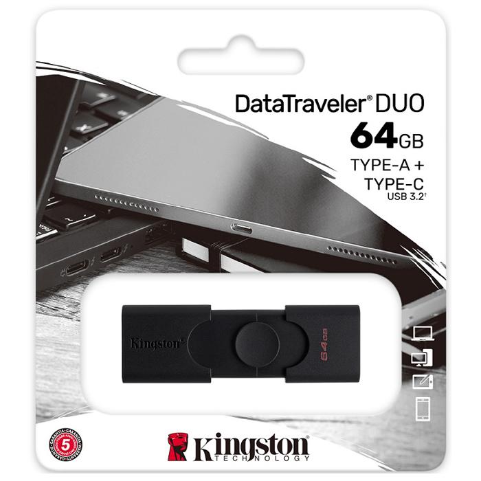 Kingston Ships Double Versatility, Dual-Interface DataTraveler Duo USB Flash Drive