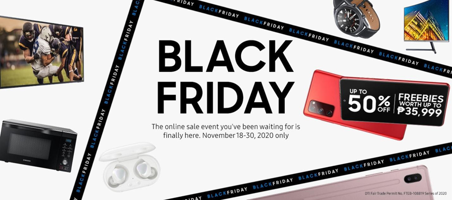 Get Exciting Deals and Treats in SAMSUNG's Black Friday Sale