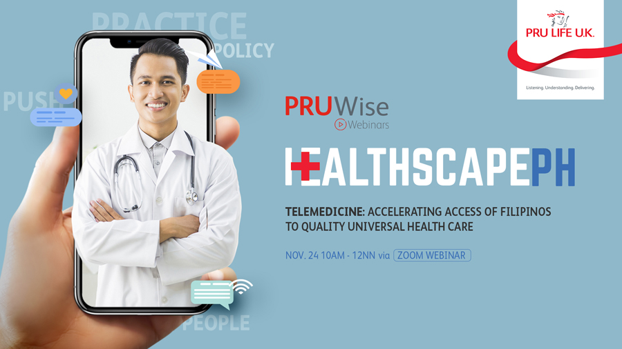 Healthscape PH 2.0: Telemedicine: Accelerating Access Of Filipinos To Quality Universal Health Care on November 24
