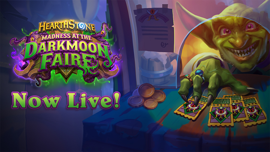 Step Right Up, If You Dare, and Experience Madness at the Darkmoon Faire Now Live in Hearthstone